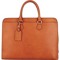 Boldrini Selleria Men's Double Handle Briefcase No Color