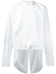 Faith Connexion Elongated Back Shirt White