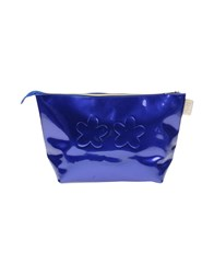 F K Project Handbags Blue