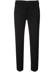 Ag Jeans Caden Skinny Cropped Trousers Black