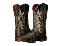 Dan Post Junction Black Distressed Cowboy Boots