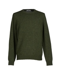 Kangra Cashmere Sweaters Military Green