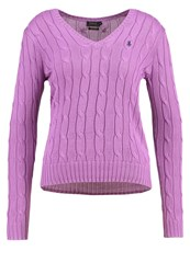 Polo Ralph Lauren Kimberly Jumper Bright Lavender Purple