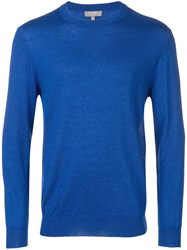 N.Peal Round Neck Sweater Blue