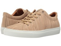 Aquatalia By Marvin K Andre Tan Textured Dress Calf 1 Men's Lace Up Casual Shoes Beige