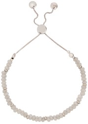 Lola Rose Wilton Place Beaded Bracelet White