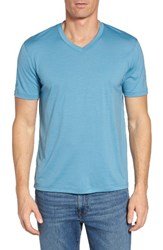 Ibex Men's 'Axis' V Neck Merino Wool Jersey T Shirt