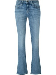 Current Elliott Slim Bootcut Jeans Blue