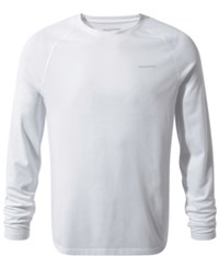 Craghoppers Nosilife Bayame Long Sleeve Shirt From Eastern Mountain Sports Optic White