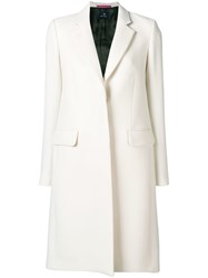 Paul Smith Ps By Tailored Midi Coat White
