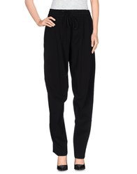 Nero Ink Trousers Casual Trousers Women Black