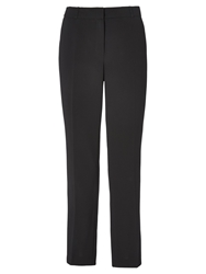 Viyella Textured Crepe Trousers Black