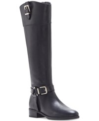 Inc International Concepts Women's Fedee Wide Calf Tall Boots Only At Macy's Women's Shoes Eclipse Blue