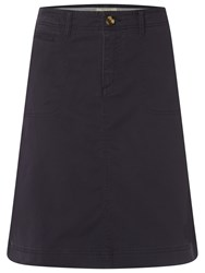 White Stuff Heritage Chino Skirt Navy