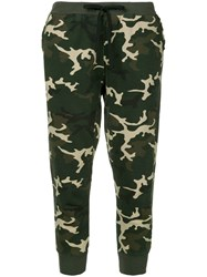 The Upside Camouflage Loungewear Trousers Green