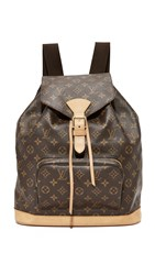 Wgaca What Goes Around Comes Around Louis Vuitton Monogram Backpack Previously Owned Lv Print