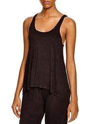 Splendid Intimates Always Drapey Tank Black