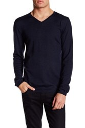 Zadig And Voltaire Ginger Long Sleeve Merino Wool Pullover Blue