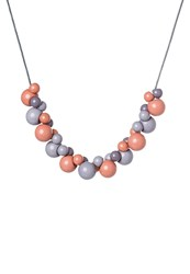 Ichi Shala Necklace Coral Almond Red