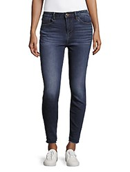Vigoss High Rise Skinny Chelsea Jeans Dark Wash