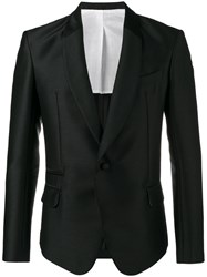 Haider Ackermann Laurel Shawl Collar Blazer Black