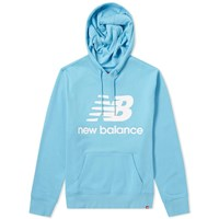 New Balance Essentials Stacked Hoody Blue