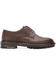 Lanvin Derby Shoes Brown