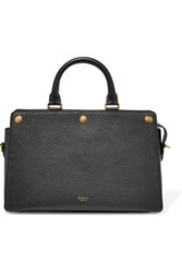 Mulberry Chester Textured Leather Tote Black