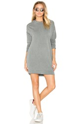 Stateside Hooded Sweatshirt Dress Gray
