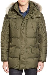 Men's Marc New York By Andrew Marc 'Stowaway' Hooded Parka With Genuine Coyote Fur Trim