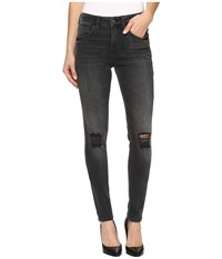 Mavi Jeans Alissa High Rise Skinny In Mid Grey Retro Mid Grey Retro Women's Gray