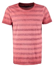 Petrol Industries Print Tshirt Light Lava Red