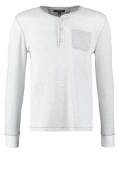Banana Republic Long Sleeved Top White Light Grey
