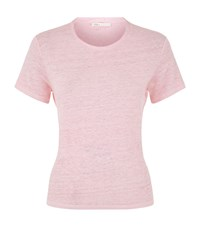 Maje Touriste Tie Back T Shirt Female Pink