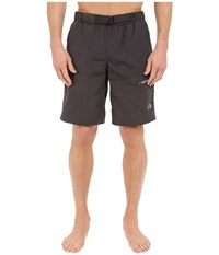 The North Face Belted Guide Trunks Asphalt Grey Men's Shorts Gray