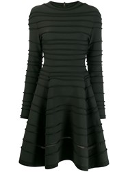 Maison Rabih Kayrouz Striped Patterned Dress Green