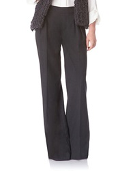 Sam Edelman Hepburn Wide Leg Pants Dark Grey