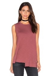 Wilt Shifted Trapeze Shell Tank Red
