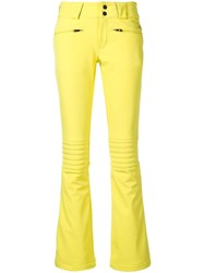 Perfect Moment Aurora Flare Pants Yellow
