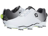 Footjoy Dna Helix White Black Bicycle Toe Men's Golf Shoes