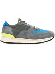 Givenchy Colour Block Sneakers Grey