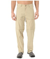Exofficio Bugsaway Ziwa Convertible Pants Light Khaki Men's Casual Pants