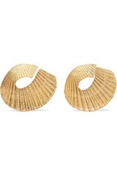 1064 Studio Gold Plated Earrings One Size