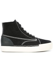 Alexander Wang 'Perry' Hi Top Sneakers Black