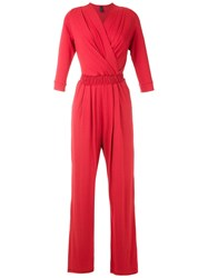 Lygia And Nanny Siriema Radiosa Jumpsuit Red