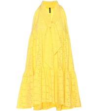 Lisa Marie Fernandez Le Mini Baby Doll Dress Yellow