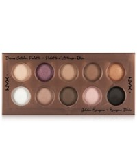 Nyx Dream Catcher Shadow Palette Golden Horizons Open Misce