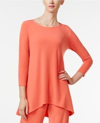 Alfani Jersey High Low Tunic Only At Macy's Tropical Reef