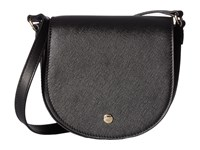 Ecco Iola Small Saddle Bag Black Handbags