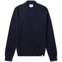 Norse Projects Adam Cardigan Blue
